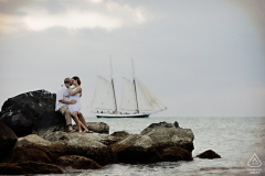 Key West Engagement Photos Studio Julie
